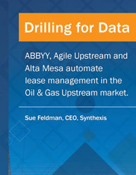 Drilling for Data:Automate Lease Management in The Oil & Gas Upstream Market