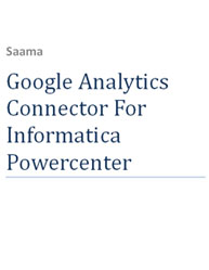 Google Analytics Connector For Informatica Powercenter