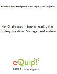 Key Challenges in Implementing the Enterprise Asset Management system