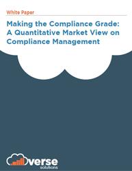 Making the Compliance Grade:  A Quantitative Market View on Compliance Management
