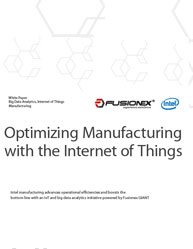 Optimizing Manufacturing with the Internet of Things