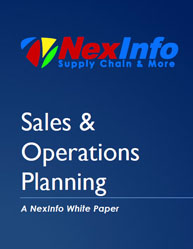 Sales and Operations Planning Process in Supply Chain