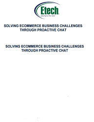 Implementing a Proactive Chat System to Solve Ecommerce Challenges