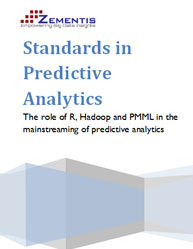 Standards in Predictive Analytics:The Role of R, Hadoop and PMML