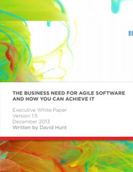 The Business Need for Agile Software and How You Can Achieve it