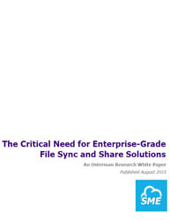 The Critical Need for Enterprise-Grade File Sync and Share Solutions