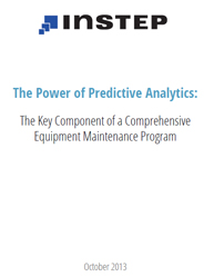 The Power of Predictive Analytics: The Key Component of a Comprehensive  Equipment Maintenance Program