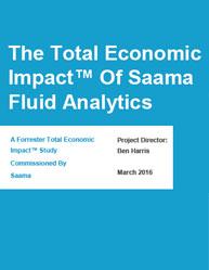 The Total Economic Impact of Saama Fluid Analytics