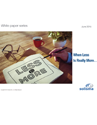 When Less is Really More:Effective Service Management