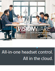All-in-one headset control. All in the cloud.