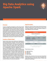 Big Data Analytics using Apache Spark