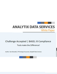Challenge Accepted | BASEL III Compliance-Tools Make the Difference!