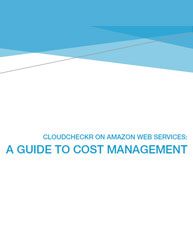 Cloudcheckr on Amazon Web Services: A Guide To Cost Management