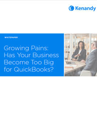 Growing Pains: Has Your Business Become Too Big for QuickBooks?