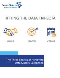 Hitting the Data Trifecta: Three Secrets of Achieving Data Quality Excellence