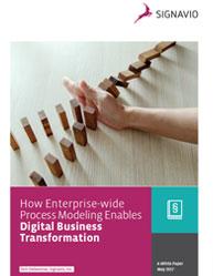 How Enterprise-wide Process Modeling Enables Digital Business Transformation