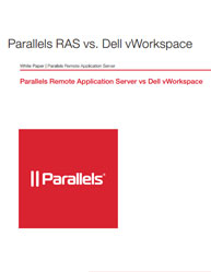 Parallels Remote Application Server vs Dell vWorkspace