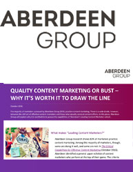 Quality Content Marketing Or Bust – Why It's Worth It To Draw The Line