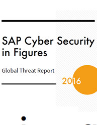 SAP Cyber Security in Figures: Global Threat Report 2016