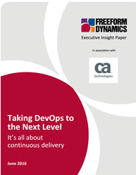 Taking DevOps to the Next Level: It's all about continuous delivery