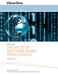 The Value Of Software-Based Video Codecs