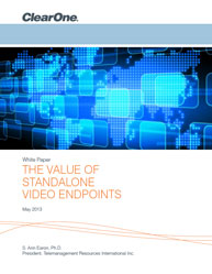 The Value Of Standalone Video Endpoints