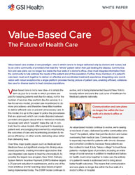 Value-Based Care The Future of Health Care