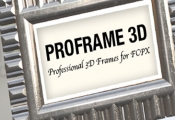 Pixel Film Studios Unveils Proframe 3D with Final Cut Pro X E...