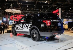 Ford Unveils 2016 Ford Police Interceptor Utility vehicle