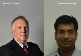 Michael Scunziano, SVP, Ebix,Karthikeyan Natarajan, Corporate Vice President, Ebix
