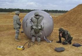 U S Marine Corps to Deploy GATR's Inflatable Satellite Communications Antenna