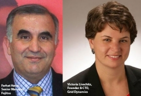 Ferhat Hatay, Senior Manager of Strategy and Innovation, Fujitsu,Victoria Livschitz, Founder & CTO, Grid Dynamics
