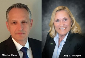 Cindy L. Skaruppa, VP for Enrollment Services, Cleveland State University,Miroslav Humer, Interim CIO and Director of Strategic Initiatives and Partnerships, Cleveland State University