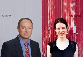 Al Martin, VP, Analytics Development & Client Success, IBM,Kate Nichols, Social Champion & Communications, IBM