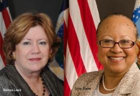 Barbara Leach, Senior Advisor and Director-Risk Mitigation, USDA,Joyce Hunter, Deputy CIO-Policy and Planning, USDA