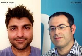 Eli Feldman, CTO, EPAM Systems,Manoj Khanna, Chief Agile Coach, EPAM Systems
