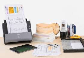 Canon Unveils DR-C225W Document Scanner with Built-In Wi-Fi