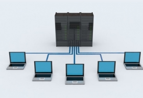 Shielding Networks through Virtualization in Data Centers