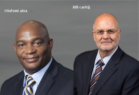 Bill Caritj, Chief Accountability & Information Officer, Atlanta Public Schools,Oufemi Aina, Executive Director, I.T. Infrastructure, Atlanta Public Schools