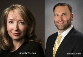 Angela Yochem, CIO, BDP International,Lance Malesh, CCO, BDP International