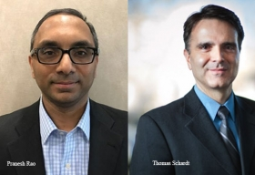 Thomas Schardt, Senior Director of IoT, Nidec Motor Corporation,Pranesh Rao, Senior Product Manager of IoT, Nidec Motor Corporation