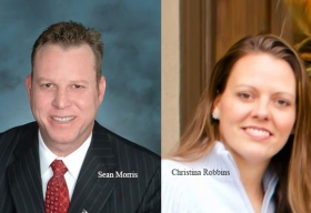 Sean Morris, Director Sales, Digitech Systems,Christina Robbins, Marketing Manager, Digitech Systems
