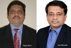 Sanjay Karve, Global Head-Innovation and Transformation Group, Manufacturing Industry Solutions Unit,Amit Bhowmik, Managing Partner, Process Manufacturing Industry, Tata Consultancy Services