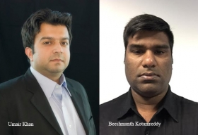 Umair Khan, Principal Product Manager ,CA Technologies, Beeshmanth Kotamreddy, Principal Product Manager, CA Technologies