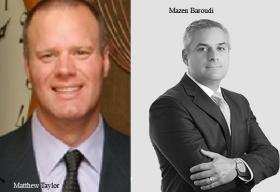 Mazen Baroudi, Managing Director ,Matthew Taylor, Managing Director, Accenture