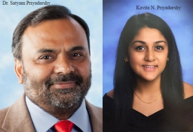 Dr. Satyam Priyadarshy, Chief Data Scientist, Halliburton ,Kavita N. Priyadarshy, Founder & CEO, Sahas LLC
