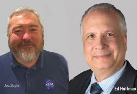 Ed Hoffman, Chief Knowledge Officer, NASA,Jon Boyle, Deputy Chief Knowledge Officer, NASA