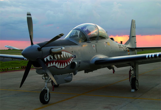 A-29 Super Tucano Aircraft Empowers Lebanese Air Force