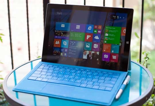 Microsoft Surface Pro 3 Tablet to be Embedded with Security Options from Absolute