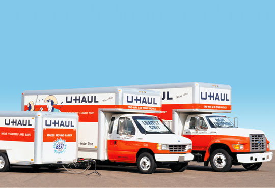 U-Haul's U Box Offers Real-Time Visibility into Transportation Service